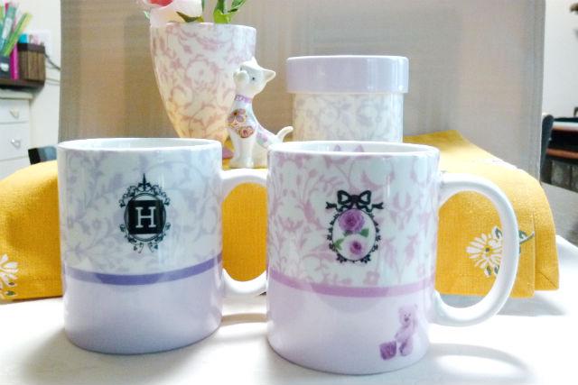 【宮城・仙台・ポーセラーツ】理想のデザインを作品に投影!マグカップ・プレート作り