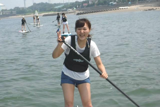 【愛知・SUP】海景に癒されるSUPクルージング!手軽に楽しむ半日体験プラン