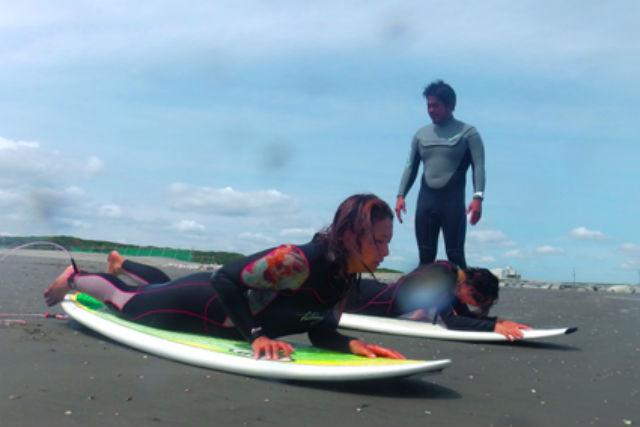 【千葉・サーフィンスクール】はじめてのサーフィンを応援!体験レッスン