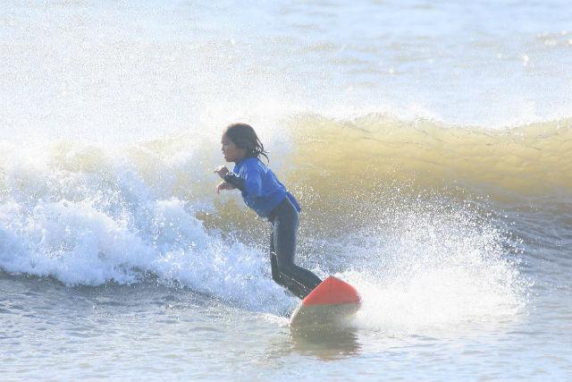 【千葉・サーフィンスクール】サーファーデビューは3歳から!キッズレッスン