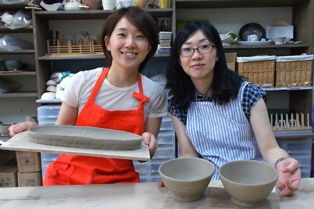 本町の陶芸教室「土夢」