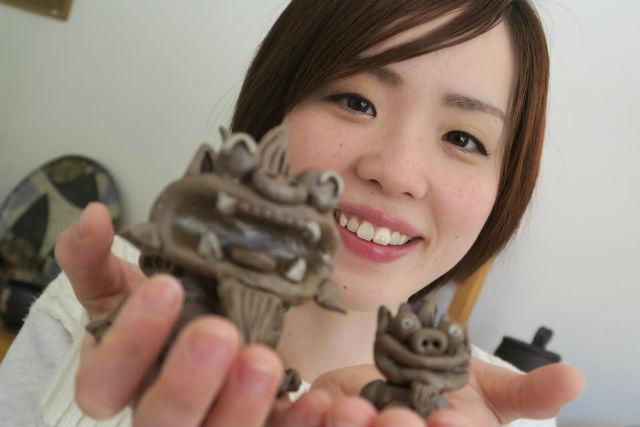 【広島・陶芸】名水百選、太田川すぐそばの工房へ。陶芸&お茶たて(手びねりコース)