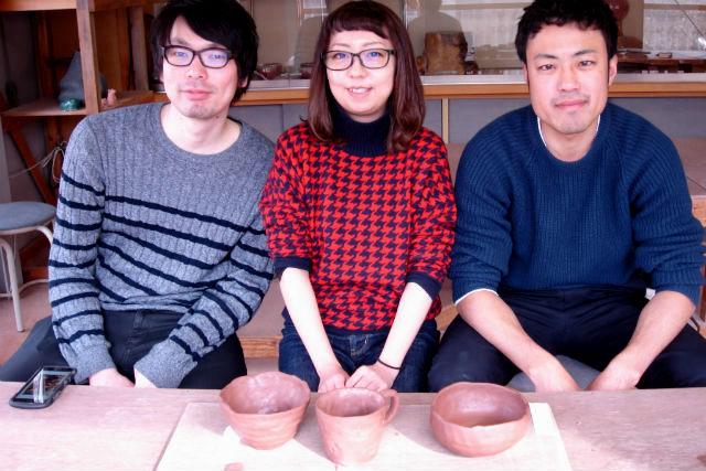 【群馬・みなかみ町・陶芸体験】みなかみ町ならではの陶器、月夜野焼をつくろう!手びねりコース