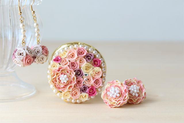 【広島・手作り雑貨】ロザフィに挑戦。小さなバラ咲くピルケースを作ろう