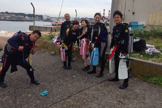 【神奈川・城ヶ島・ファンダイビング】リフレッシュダイビングにも最適!安心のビーチダイビング