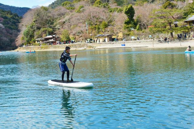 【京都・嵐山・SUP】世界観光都市ランキング1位「嵐山」をSUPから感じる