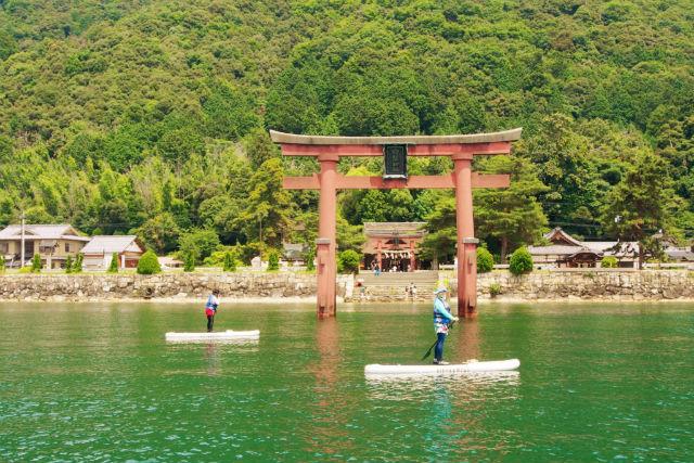 白ひげ浜 水泳キャンプ場
