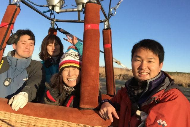 【栃木・渡良瀬・熱気球体験】気球に乗ってどこまでも!渡良瀬遊水地エリアフライト体験