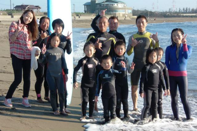 【福井・三国・サーフィン】基礎を学ぼう!連盟公認講師が教えるKIDSサーフィンスクール