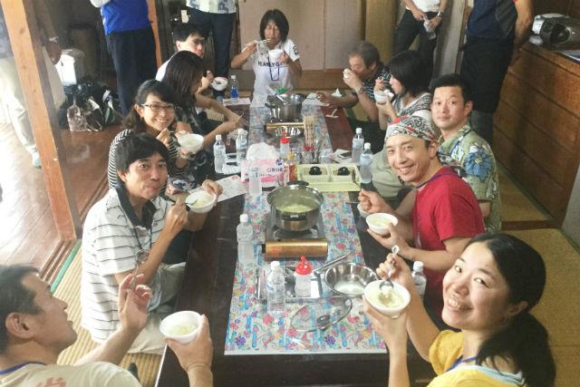 【沖縄・料理体験】ご家族やお友達と楽しめる!沖縄伝統の「島豆腐」を手作りしよう!(試食有)