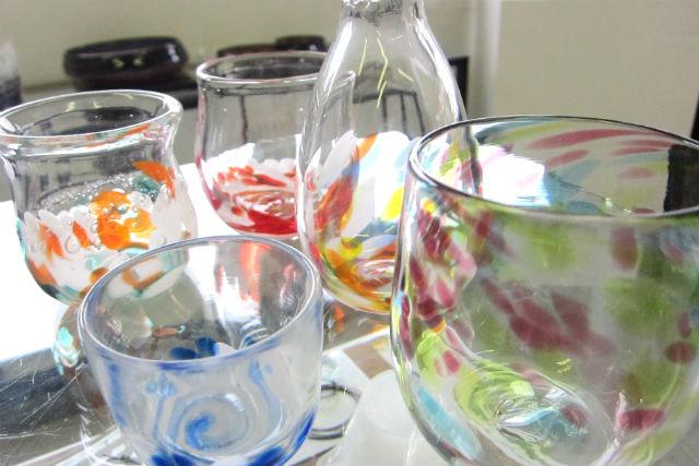 【岡山・ガラス細工】湯郷温泉街で吹きガラス体験!しっかり学べるマンツーマン指導