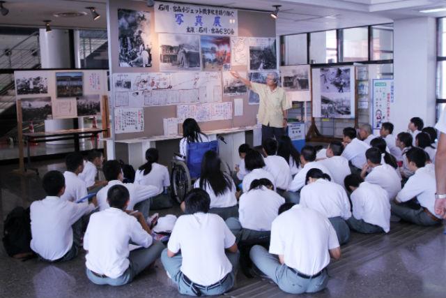 【沖縄・うるま・伝統文化体験】まち歩きガイド付きのBコース。うるまの歴史を学ぶ戦後史ツアー
