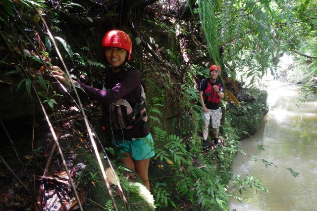 【西表島・カヤック・シャワークライミング】子どもと一緒に大冒険!アダナデ川の滝ツアー