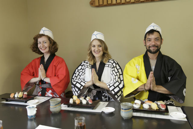 【富山・料理体験】いっぱい食べられて大満足!寿司12貫が握れる松コース
