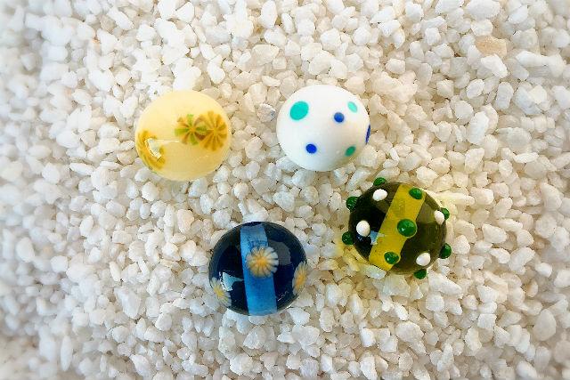 【愛媛・松山・ガラス細工】好きな色で作ろう!お手軽とんぼ玉制作体験
