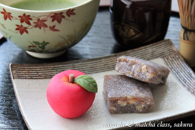 【東京・千駄木・お菓子作り体験】お家で作れるレシピ付き!和菓子と抹茶たてレッスン