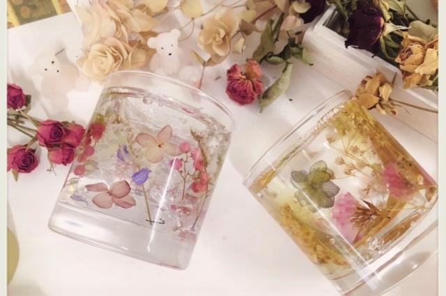 【大阪・キャンドル作り】結婚式のおもてなしに!ボタニカルキャンドル(ロックタイプ)