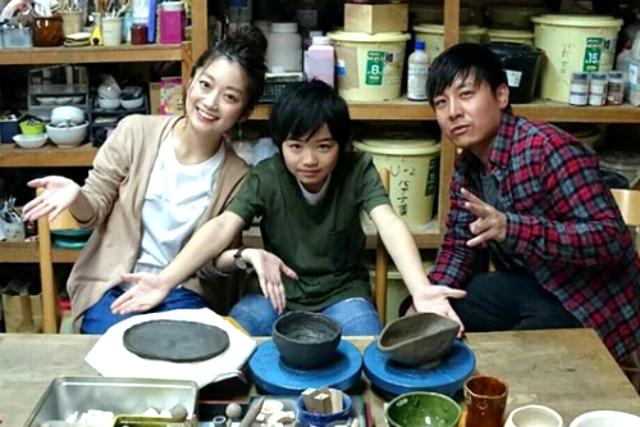 【岡山・美作・手びねり】湯郷温泉街で陶芸!旅の思い出にお茶碗作りはいかが!500gの粘土で作る手びねり陶芸体験
