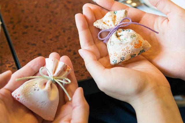 【東京・世田谷・伝統文化体験】天然の香原料のみを使用!和の匂い袋づくり