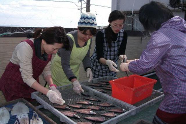 【徳島・鳴門市・料理体験】鳴門海峡の味を満喫!干物作り(アジ・サバなど)