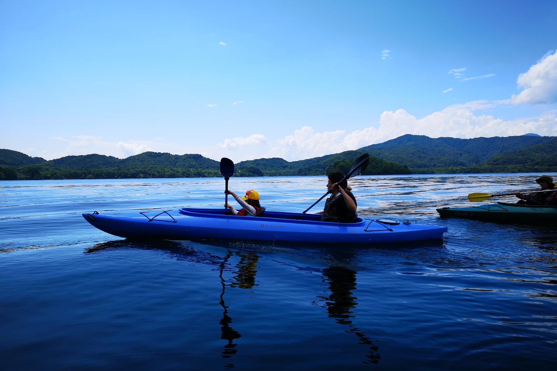 【福島・裏磐梯・カヌー】早起きして出かけよう!桧原湖・高原体験コース(6:00集合)