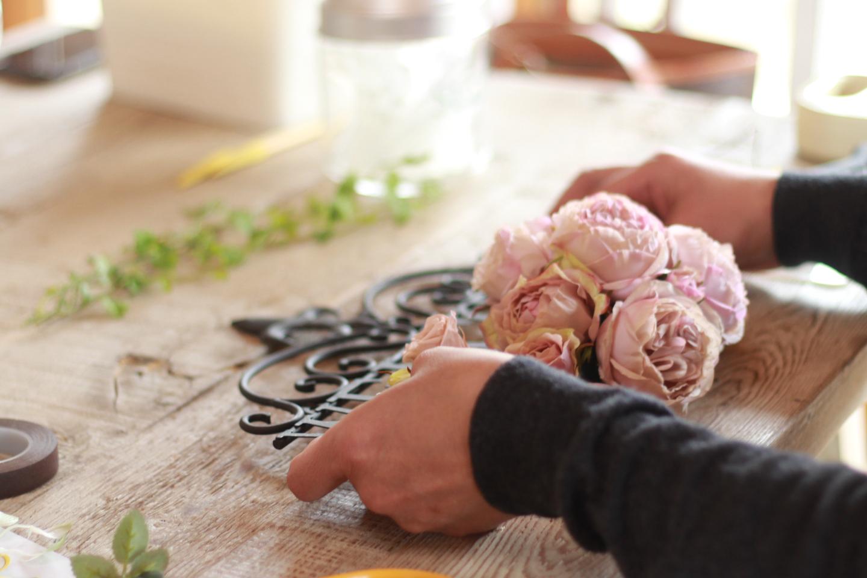 【岡山・倉敷・フラワーアレンジメント】お花でプリエアートアレンジを作ろう!美観地区から車で15分!