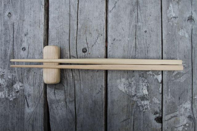 【大阪・河内長野市・木工体験・おはし作り】軽くて持ちやすい!奥河内おはしセット