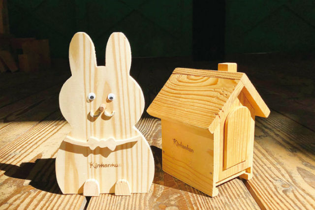 【大阪・河内長野市・木工体験・ハウス貯金箱】かわいい木のおうち型!ハウス貯金箱作り