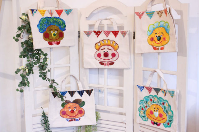 【愛媛・松山市・手作りバッグ】ニッコリ笑顔を持ち歩こう!かおバッグ作り