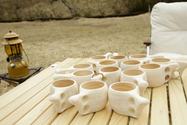 【森の京都限定】「丹州材」を使ったマグカップ KYO-KUKSA作りと林業の現場を見学 ~森の京都で学ぶ大人の遠足~