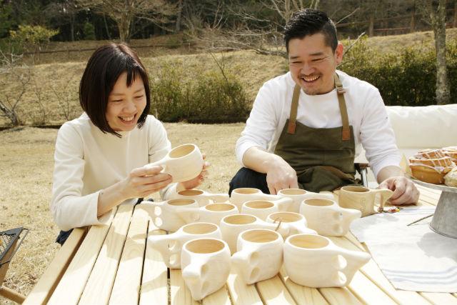森の京都 「丹州材」を使ったマグカップ KYO-KUKSAを作る体験を通して森の大切さを学ぶ