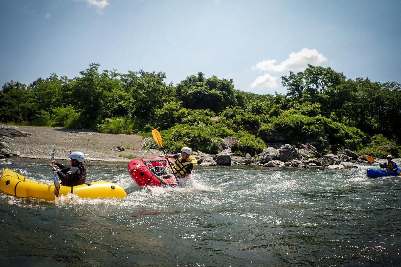 【埼玉・長瀞・パックラフト】1人乗りボートで川下り!パックラフト・ダウンリバー