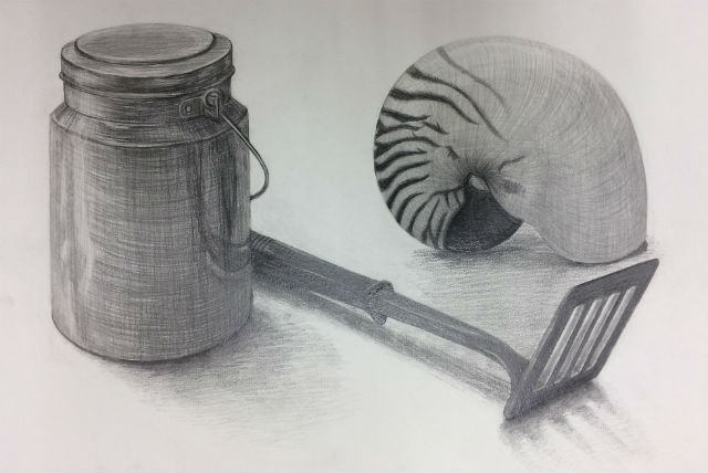 【愛知県・絵画教室】描きながら理論を学ぶ!デッサン体験(2時間30分)