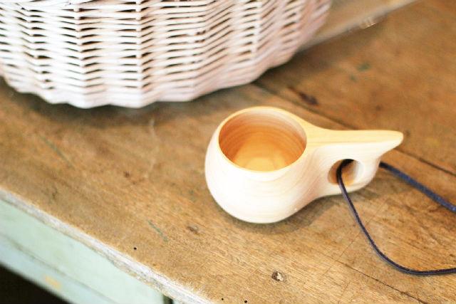 【京都・福知山・工芸品制作】高級木材「丹州材」でマグカップ制作。ミニククサ1個