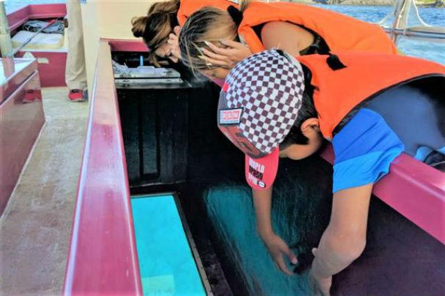 青の洞窟 小樽グラスボート