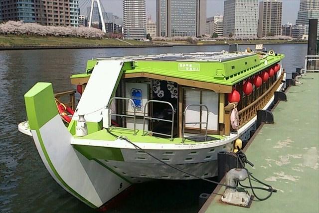 葛西場船上