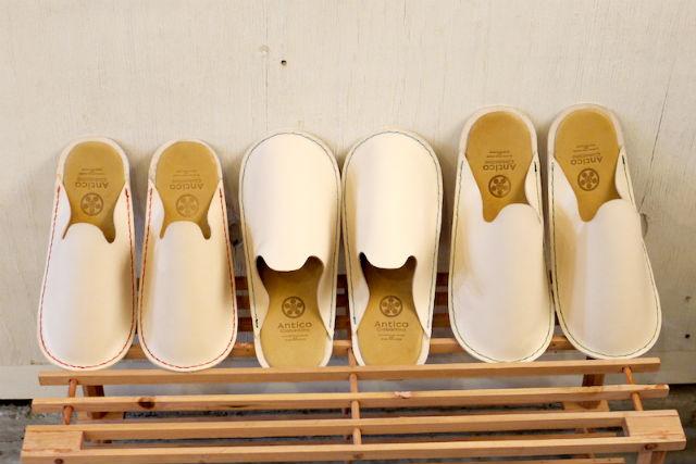【愛知・名古屋・レザークラフト】革製品の味を楽しめる!ヌメ革で作るルームシューズ