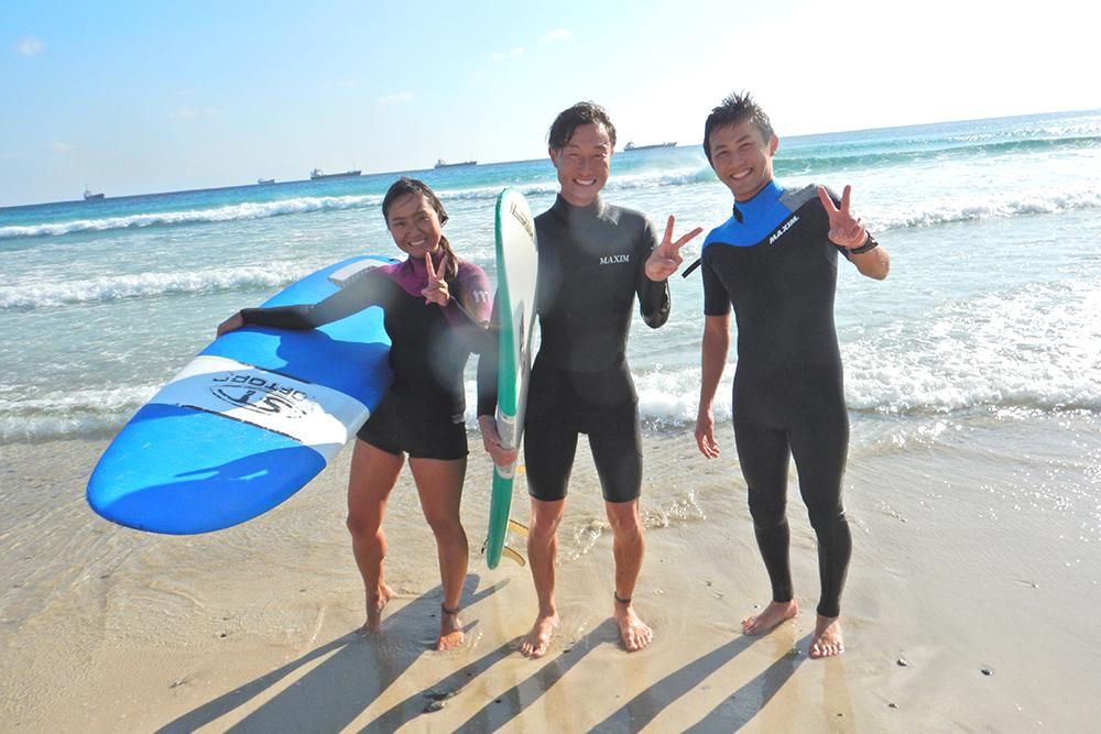 【宮崎市】青島海岸でサーフィン体験(ステップアップコース・180分)