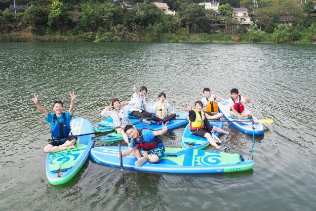 【愛媛・SUP】観光の合間に楽しめる!大洲・SUP体験コース