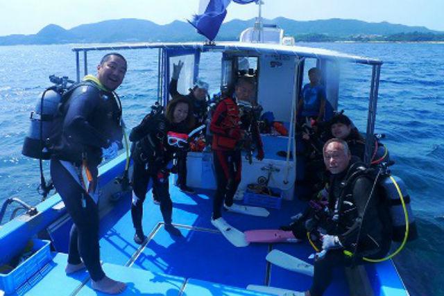 【鹿児島・奄美大島・ファンダイビング】奄美でたっぷり楽しむ!ボートダイビング3回