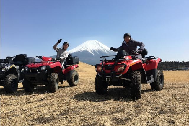 バギートレッキング富士山バギー