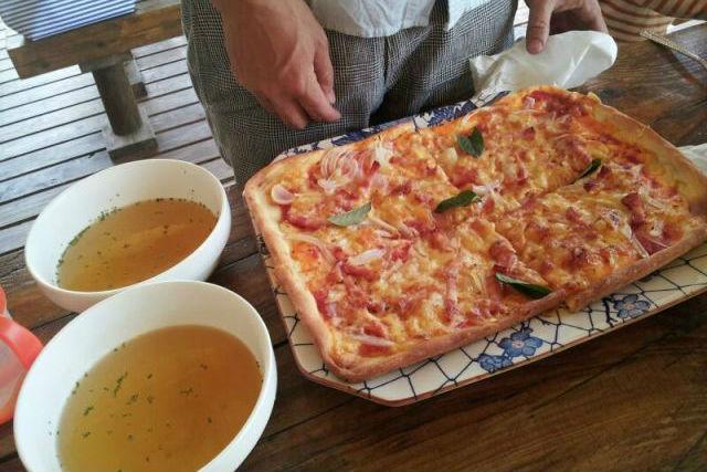 【熊本・阿蘇】石窯で焼き上げる!ピザ作り