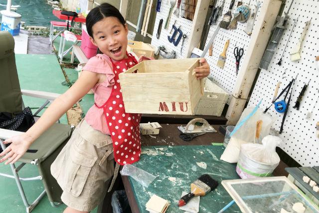 【京都市】初めてのDIY。ペンキ塗り体験(木箱、スツール、木台など・2時間10分)