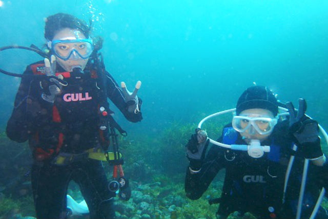【広島・ダイビングライセンス取得】海まで30秒の好立地!広島最南端の隠れた夕日スポットがある倉橋島の穏やかな海でライセンス取得(3日間コース)