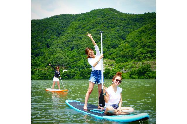 【岡山市】水の上をお散歩!SUP体験