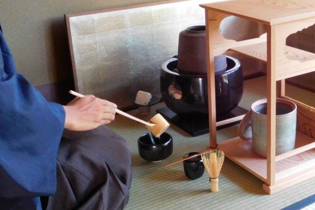 【京都市・茶道体験】銀閣寺から徒歩2分。カジュアルな茶道体験