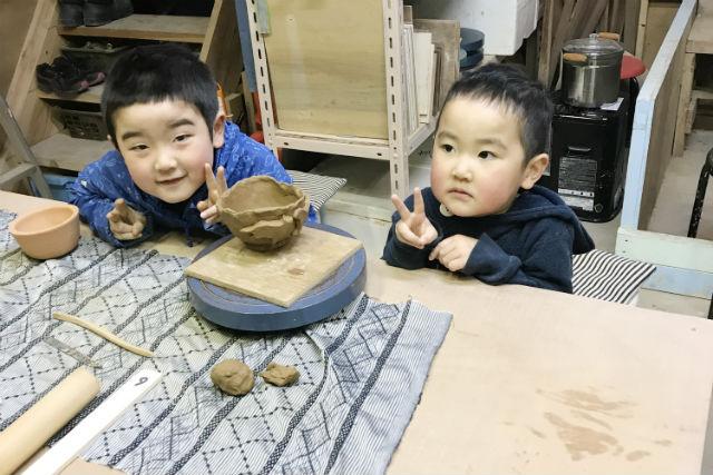 【岩手・花巻市・陶芸体験】冬休みの宿題におすすめ!大自然の中で陶芸体験しよう