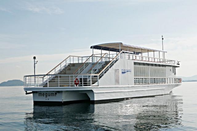 【滋賀・琵琶湖・クルーズ】南湖遊覧ボート80分コース(におの浜観光港発着)