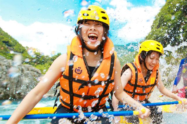 ロングコース・吉野川の激流満喫ツアー(軽食・写真撮影付き)