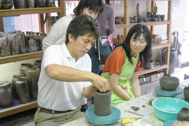 【岡山・備前市・陶芸体験】自分の手で備前焼を作ろう!土ひねり体験(湯のみ・茶碗・コップなど)